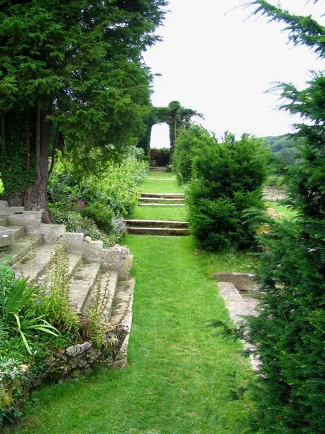 Landelijke romantische type for Jardin italien